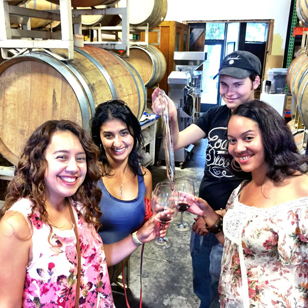 Napa Valley and Sonoma Barrel Tasting