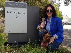 William Hill Dog Friendly Wineries Lola Coco & Lelani Simply Driven